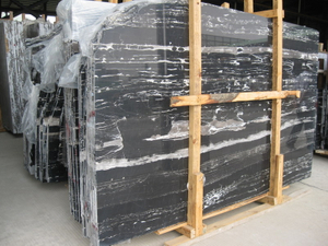 China Cheap Silver Dragon Marble Slab con Factory Price