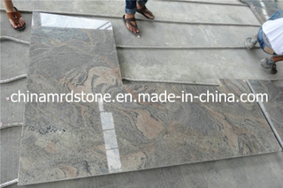 Cheap prefabricado China Juparana Granite Worktop para Restaurant Kitchen