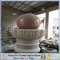 Maple Red Granite Stone Fountain Ball for Garden Decoration (MRD)