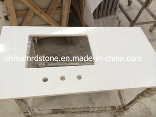 White dirigido Stone Quartz para Countertop o Bench Top