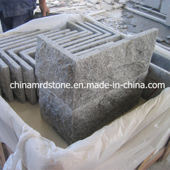 G603 White Granite Mushroom Stone para el patio Wall de Outside