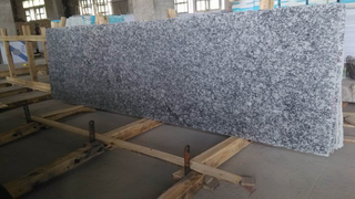 Granite natural Spray White Small Slab para Decoration