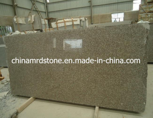 G664 Misty Brown Granite los 5cm Thick Slab para Tombstone