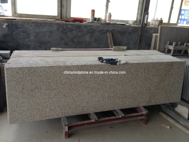 China Ming Gold Granite Vanity Top para Countertop
