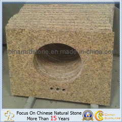 Tigre Skin Yellow Granite para Kitchen o Bathroom Counter