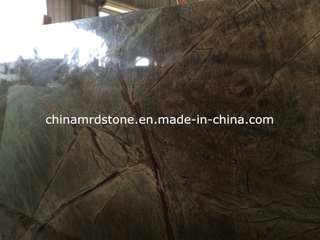 Overstock Natural Rainforest Green Marble para Floor Tile