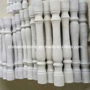White de encargo Marble Stone Baluster para Home Decoration
