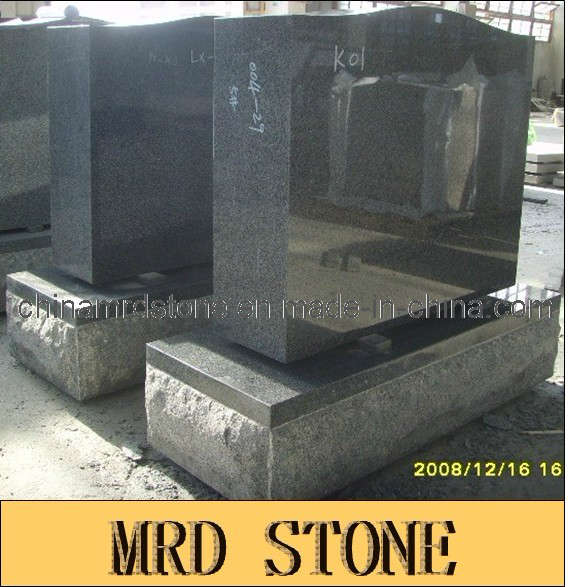 Padang Dark Polished Face Serpentine Top Monument para Serbia