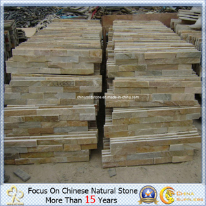(Negro, Rusty, White, Yellow etc.) Slate Culture Stone Cladding Stone