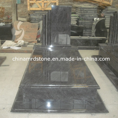 Modificar Bahama para requisitos particulares Blue/Orion Granite Single Tombstone con Low Price
