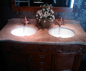 Tapa de la vanidad Top/Bathroom de la vanidad Top/Marble