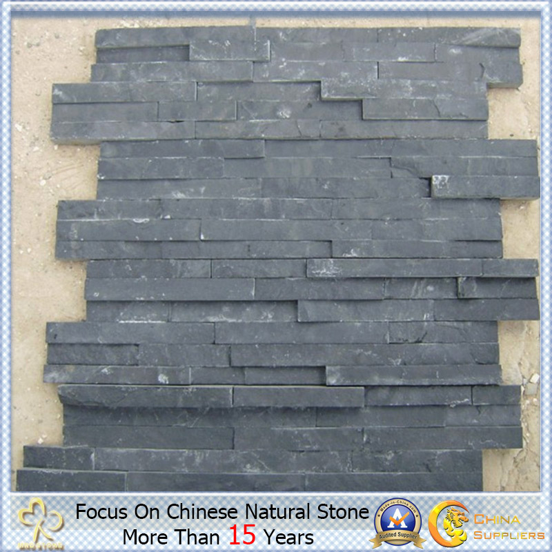 Black/Yellow naturales Cultural Slate para Roofing y Wall