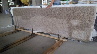 Granite local Yellow G682 Small Slabs para Decorations
