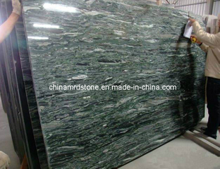 China Ocean Green Granite Slab para Monument o Countertop